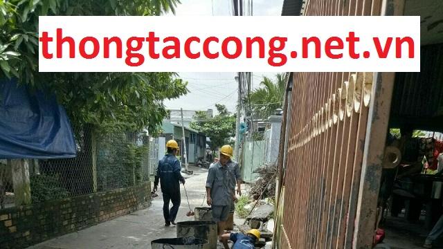 Dịch vụ thông tắc cống Hà Nội giá rẻ uy tín 090 151 12 11.