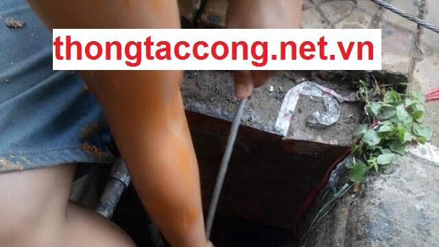 Thông tắc cống nghẹt tại Đồng Nai giá rẻ 5Ok, Bảo Hành 2 năm